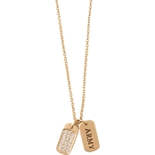 Spartina 449 Sea La Vie Mermaids Goldtone Necklace for Military, Army 18 in.