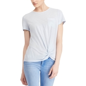 Lauren Ralph Lauren Twisted Pocket Tee