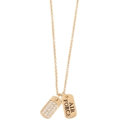 Spartina 449 Sea La Vie Necklace Mermaids for Military, Air Force 18 In.