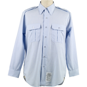 DLATS Men's Blue Shirt
