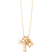 Spartina 449 Sea Islands 18 in. Charm Necklace