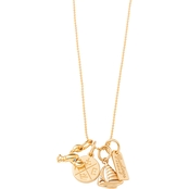 Spartina 449 Northeastern Harbors Charm Necklace