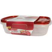 Rubbermaid Rectangle Takealongs, 2 pk. / 1 gal.