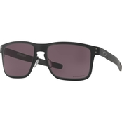 Oakley Holbrook Metal Matte Black/Prizm Grey Sunglasses 4123