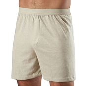 50/50 Cotton/Poly Jersey Knit Boxer Shorts, 2 pk.