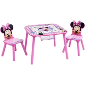 Disney Minnie Mouse Table and Chair Set with Storage