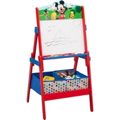 Disney Mickey Mouse Wooden Activity Whiteboard Easel