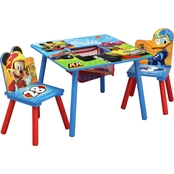 Disney Mickey Mouse Table and Chair Set with Storage