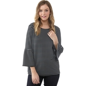 Kensie Stretch Crepe Top