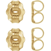 Karat Kids 14K Gold Lightweight Friction Earring Backs 4 Pk.