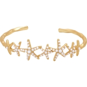 Spartina 449 18K Matte Goldtone Sea Star Cuff