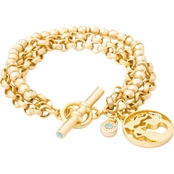Spartina 449 18K Matte Goldtone Mermaid Toggle Bracelet