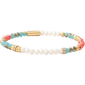 Spartina 449 18K Goldtone Stretch 4mm Summer Bracelet