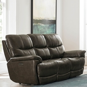 Bassett Club Level Brookville Power Reclining Sofa