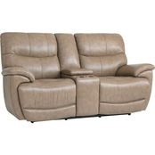 Bassett Club Level Brookville Power Reclining Loveseat