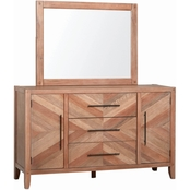 Scott Living Auburn 3 Drawer Dresser