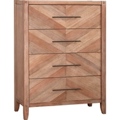 Scott Living Auburn 4 Drawer Chest