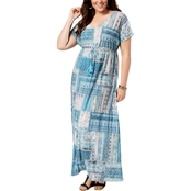 Style & Co. Plus Size Dolman Maxi Dress