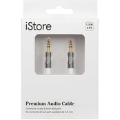 Targus iStore 5 ft. Aluminum 3.5mm AUX Audio Cable