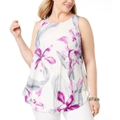 Alfani Plus Size Swing Top