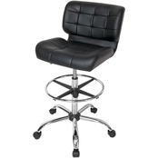 Studio Designs Black Crest Drafting Chair