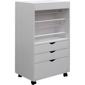 Studio Designs Gift Wrapping / Craft Supply Storage Cart