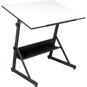 Studio Designs Solano Height Adjustable Drawing Table