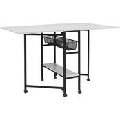 Studio Designs Home Mobile Fabric Cutting Table with Storage