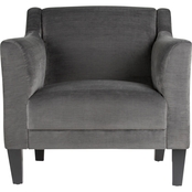 Studio Designs Home Grotto Modern Wingback Accent Chair