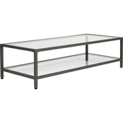 Studio Designs Home Camber Modern Glass Coffee Table