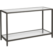 Studio Designs Home Camber Modern Glass Console Table