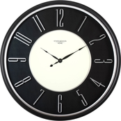 Studio Designs Home 29 in. Modern Raised Numeral Wall Clock