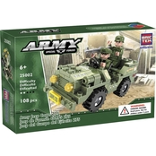 BRICTEK Army Jeep Corps 275 Playset