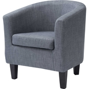 CorLiving Antonio Fabric Tub Chair