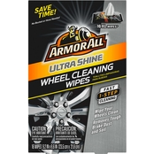 Armor All Ultra Shine Wheel Cleaning Wipes 16 ct.
