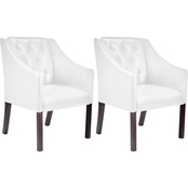 CorLiving Antonio Accent Club 2 Pc. Chair Set