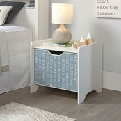 Sauder Pinwheel Night Stand