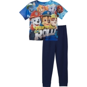 Nickelodeon Infant Boys PAW Patrol Sublimated Top/French Terry Jogger Set