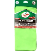 Turtle Wax Platinum 3 Pk. Car Glass Towel
