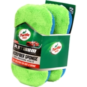 Turtle Wax Platinum 2 Pk. Car Wash Sponge 19 x 10 x 5.08 cm.