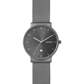 Skagen Women's Ancher Titanium and Steel Mesh Watch 40mm SKW6432