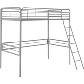 DHP Metal Twin Loft Bed