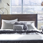 Home Styles Barnside Metro Headboard and Night Table Set