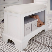 Home Styles Naples Storage Bench