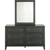 Home Styles 5th Avenue Dresser and Mirror