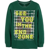 Carter's Little Boys End Zone Tee