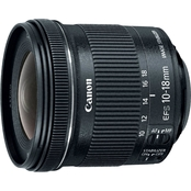 Canon EF-S 10-18mm F4.5-5.6 IS STM Zoom Camera Lens