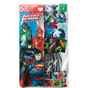 DC Comics Little Boys Justice League 5 pk. Underwear