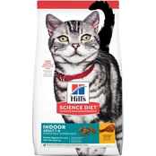 Science Diet Adult Indoor Chicken Recipe Dry Cat Food, 3.5 lb.