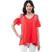 Cherokee Cold Shoulder Top